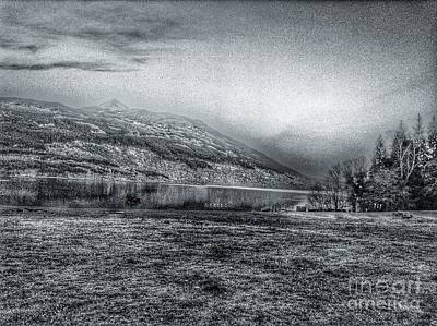 Photograph - A View Of Ben Lomond In Greyscale by Joan-Violet Stretch