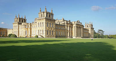 Art Print featuring the photograph A View Of Blenheim Palace by Joe Winkler