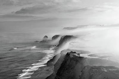 Photograph - A View Of Gods by Jorge Maia