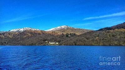 Photograph - A View Of Loch Lomond In Spring 2 by Joan-Violet Stretch