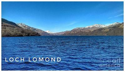 Photograph - A View Of Loch Lomond In Spring by Joan-Violet Stretch