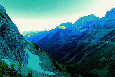 Photograph - A View Of Logan Pass by Jeff Swan