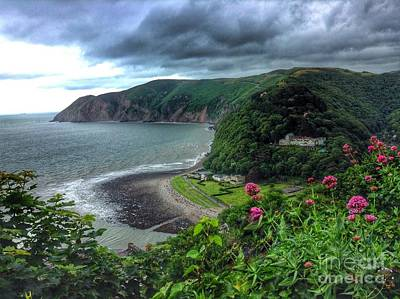 Photograph - A View Of Lynmouth 2 by Joan-Violet Stretch