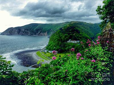 Photograph - A View Of Lynmouth 3 by Joan-Violet Stretch