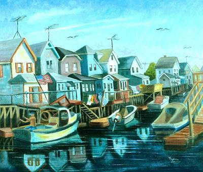 Painting - A View Of Ramblesville by Madeline Lovallo