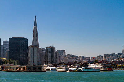 Photograph - A View Of San Francisco Waterfront by Bonnie Follett
