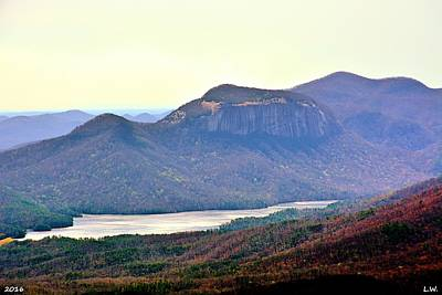 Caesars Head State Park Photograph - A View Of Table Rock South Carolina by Lisa Wooten