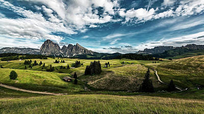 Photograph - A View Of The Dolomites - Italy by Pixabay