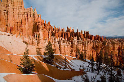 A View Of The Hoodoos And Other Eroded Art Print by Taylor S. Kennedy