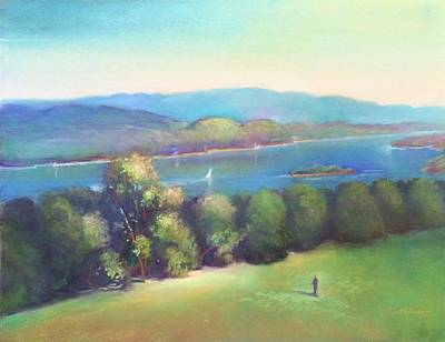 A  View Of The Mighty Hudson Original by Kathleen Bonadonna