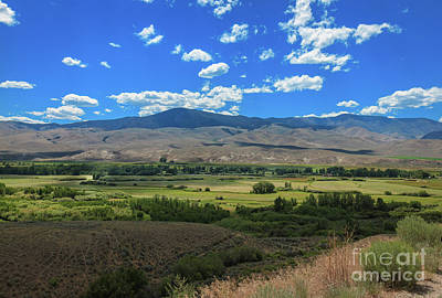 Photograph - A View Of The Salmon Valley by Robert Bales