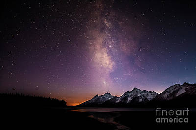 Photograph - A View Of The Stars by Steven Reed