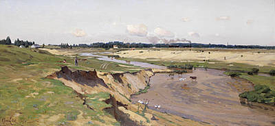 Painting - A View Of The Surroundings Of Vilno by Vladimir Donatovich Orlovsky