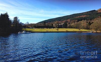 Photograph - A View Of The Tarbet Hotel Loch Lomond by Joan-Violet Stretch