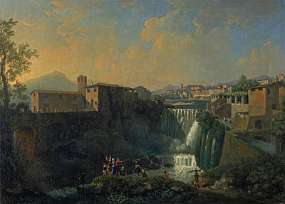 Painting - A View Of Tivoli by Thomas Patch