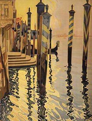 Digital Art - A View Of Venice by Unknown