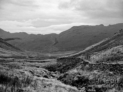 Photograph - A View Of Wasdale In Monochrome by Joan-Violet Stretch