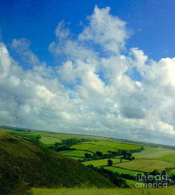 Photograph - A View Over Exmoor by Joan-Violet Stretch