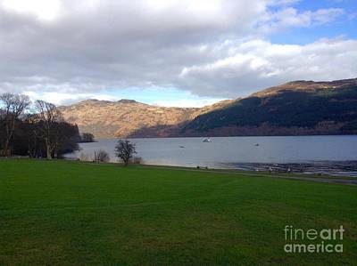 Photograph - A View Over Loch Lomond 2 by Joan-Violet Stretch