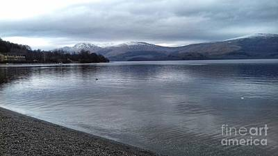 Photograph - A View Over Loch Lomond At Luss by Joan-Violet Stretch
