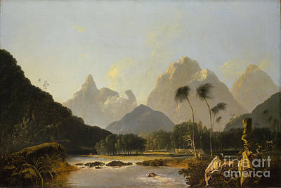 A View Taken In The Bay Of Oaite Peha Art Print