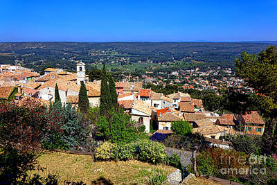 Photograph - A Village In Provence by Olivier Le Queinec