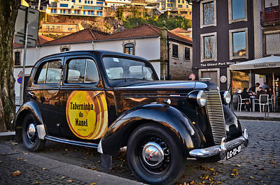 Photograph - A Vintage Vauxhall At Riviera Do Porto - Portugal - Taberninha D by Carlos Alkmin