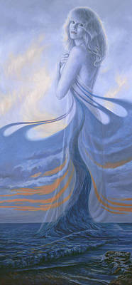Painting - A Vision by Lucie Bilodeau