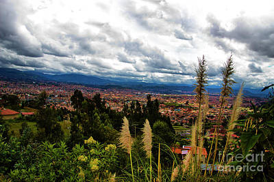 Immaculate Photograph - A Vista Of Cuenca From The Autopista by Al Bourassa