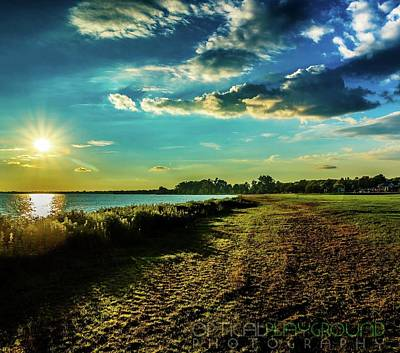 Photograph - A Walk Around Lake Saint Clair by Optical Playground By MP Ray