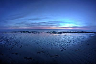 Photograph - A Walk At Sunset by Morgan Wright