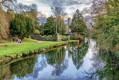 Photograph - A Walk In The Castle Grounds by Alan Campbell