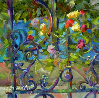 Painting - A Walk In The Garden by Chris Brandley