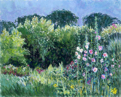 Painting - A Walk In The Garden by Tara Moorman