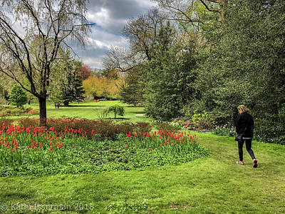 Photograph - A Walk In The Gardens by Kathi Isserman