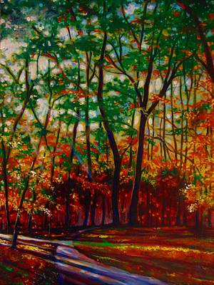 Painting - A Walk In The Park by Emery Franklin