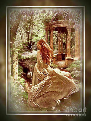 Digital Art - A Walk In The Woods by Kathy Kelly