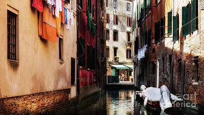 Photograph - A Walk In Venice by Miles Whittingham