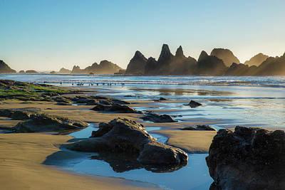 Photograph - A Walk On The Beach by Michael Balen