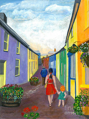 Painting - A Walk On The Bright Side by Veronica Rickard