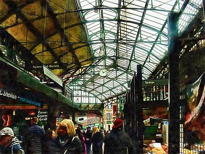 Photograph - A Walk Through Borough Market by Dorothy Berry-Lound