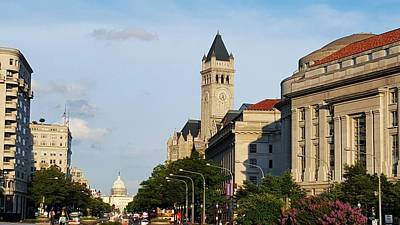 City Photograph - A Walk Through D.c. by Ric Schafer