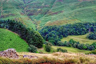 Photograph - A Walk To Edale by Yoursbyshores Isabella Shores