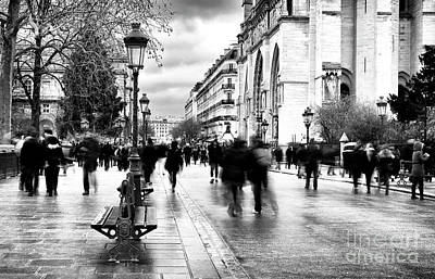 Photograph - A Walk To Notre Dame by John Rizzuto