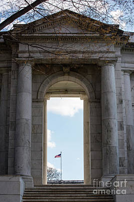 Photograph - A Walk To The Memorial Amphitheater by Judy Wolinsky