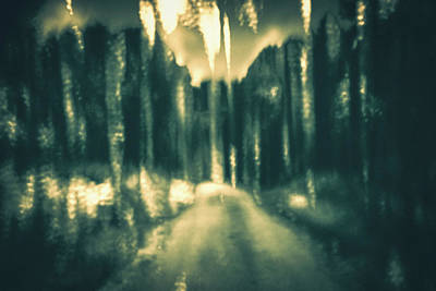 Intentional Camera Movement Photograph - A Walk Too Far by Chris Dale