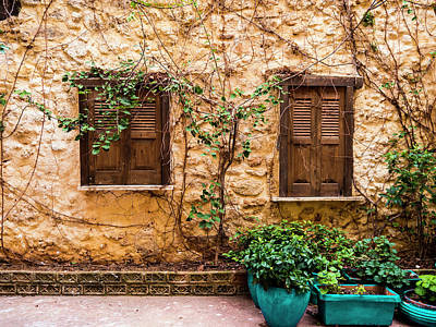 Photograph - A Wall In Chania by Rae Tucker