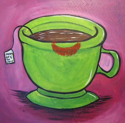 Painting - A Warm Cup Of Tea And Honey by Heather Shalhoub