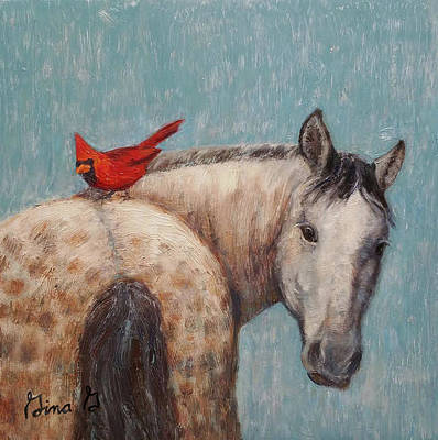 Painting - A Warm Ride by Gina Grundemann