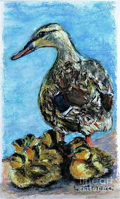 Painting - A Watchful Eye by Laurie Morgan